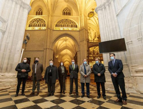 Iberdrola fills the interior of Palencia Cathedral with light