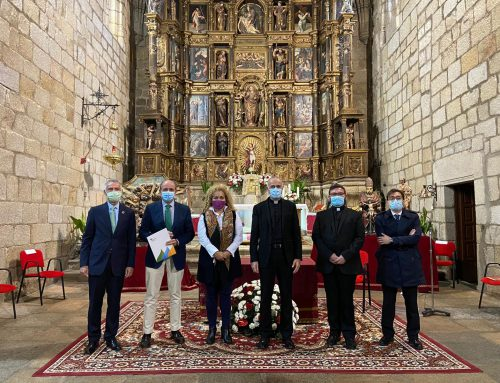 Fundación Iberdrola España signs an agreement with the Diocese of Coria-Cáceres for the restoration of the San Antonio de Padua Altarpiece.