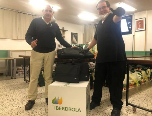 Fundación Iberdrola España supports the Parish of San Juan de Dios in Vallecas by donating computer equipment